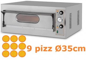 Piec do pizzy jednokomorowy elektryczny | 9x36 | Start 9 BIG