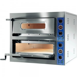 Piec do pizzy | 2 komory | GGF X-Line | 2x4x30 | 900x735x750mm | 8,4kW
